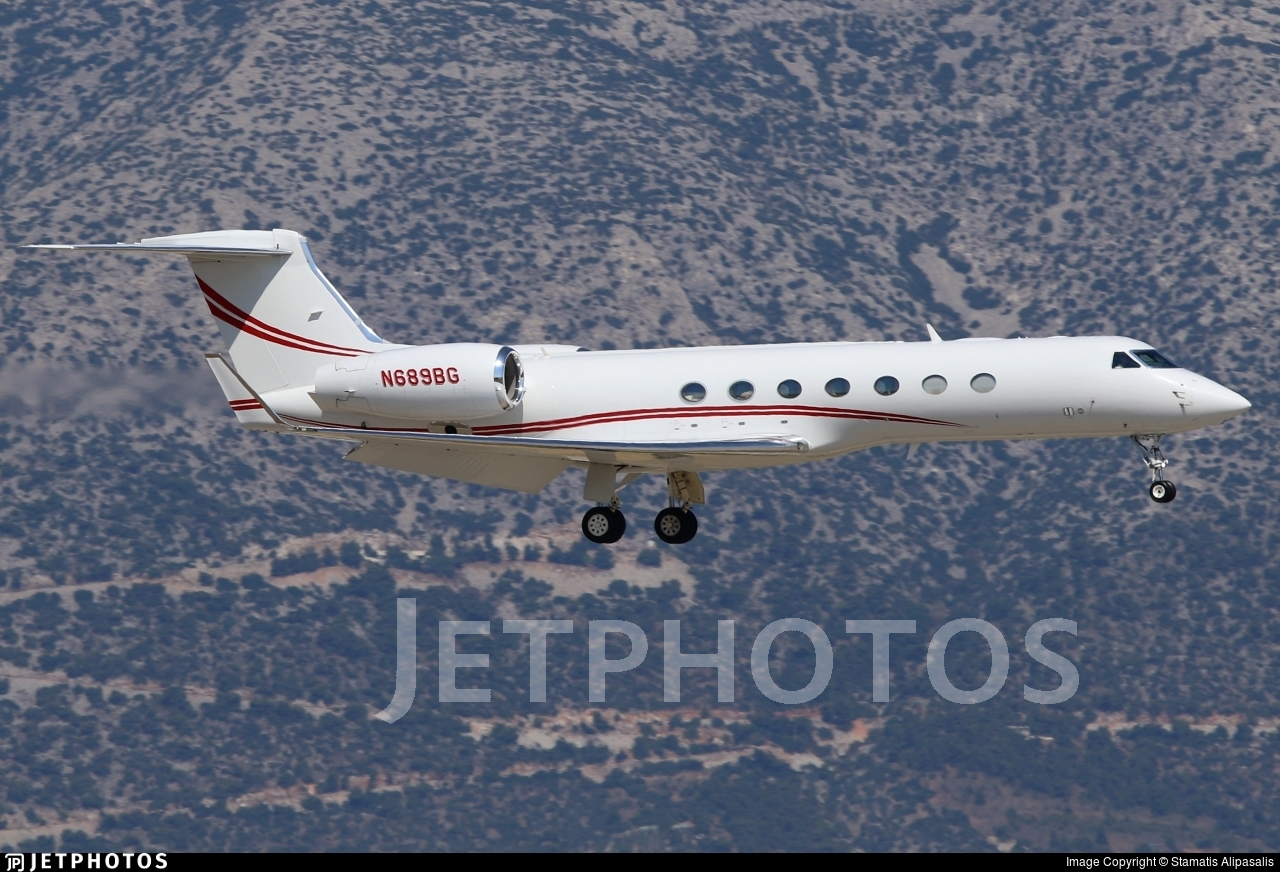 N689BG - Gulfstream G550 - Private