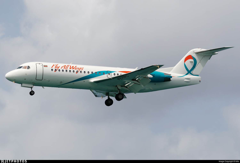 PZ-TFC - Fokker 70 - Fly All Ways