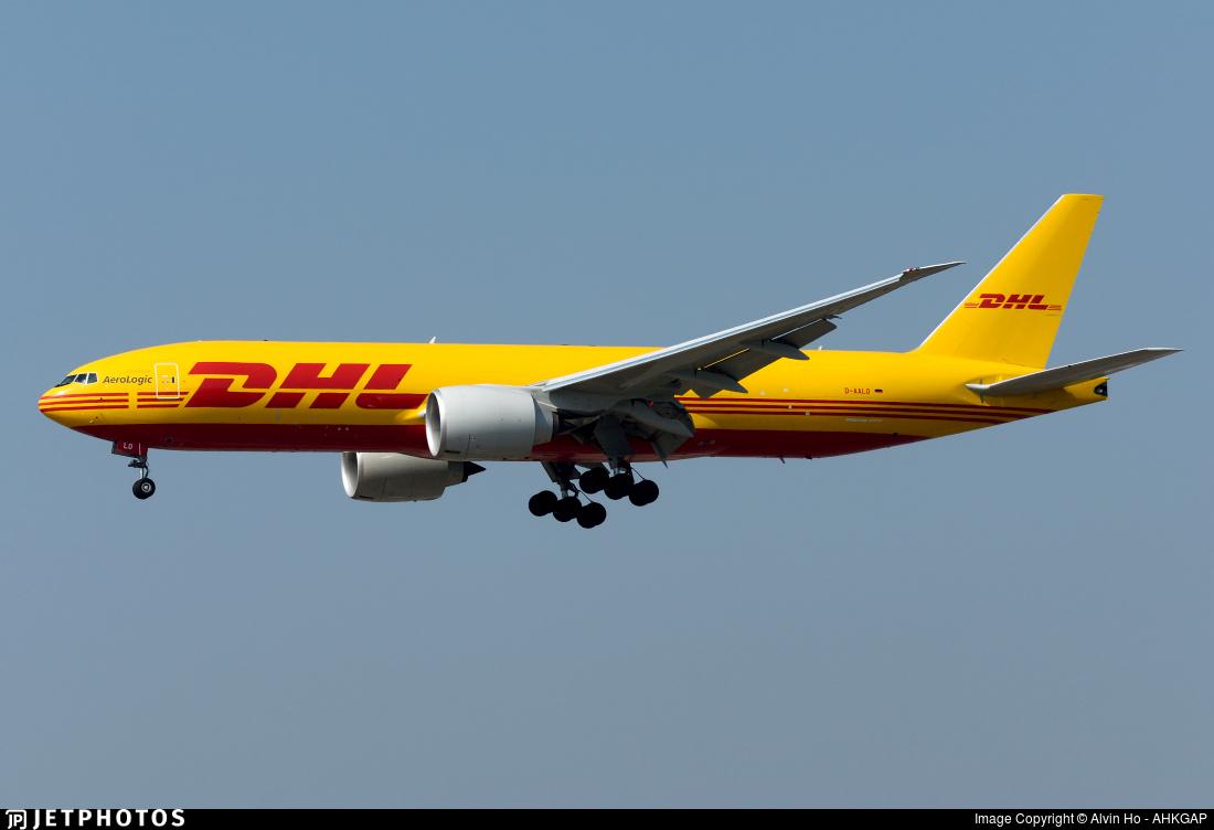 D-AALO - Boeing 777-F - DHL (AeroLogic)