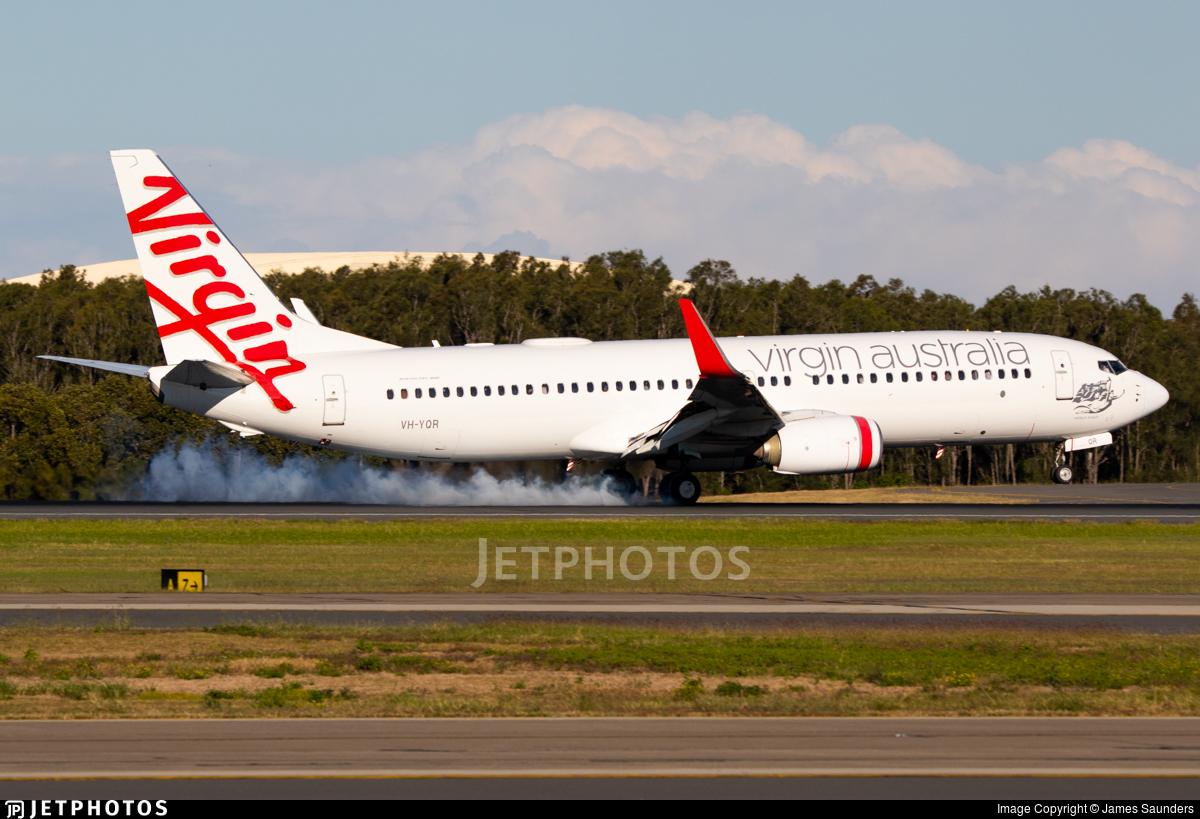 VH-YQR - Boeing 737-8FE - Virgin Australia Airlines