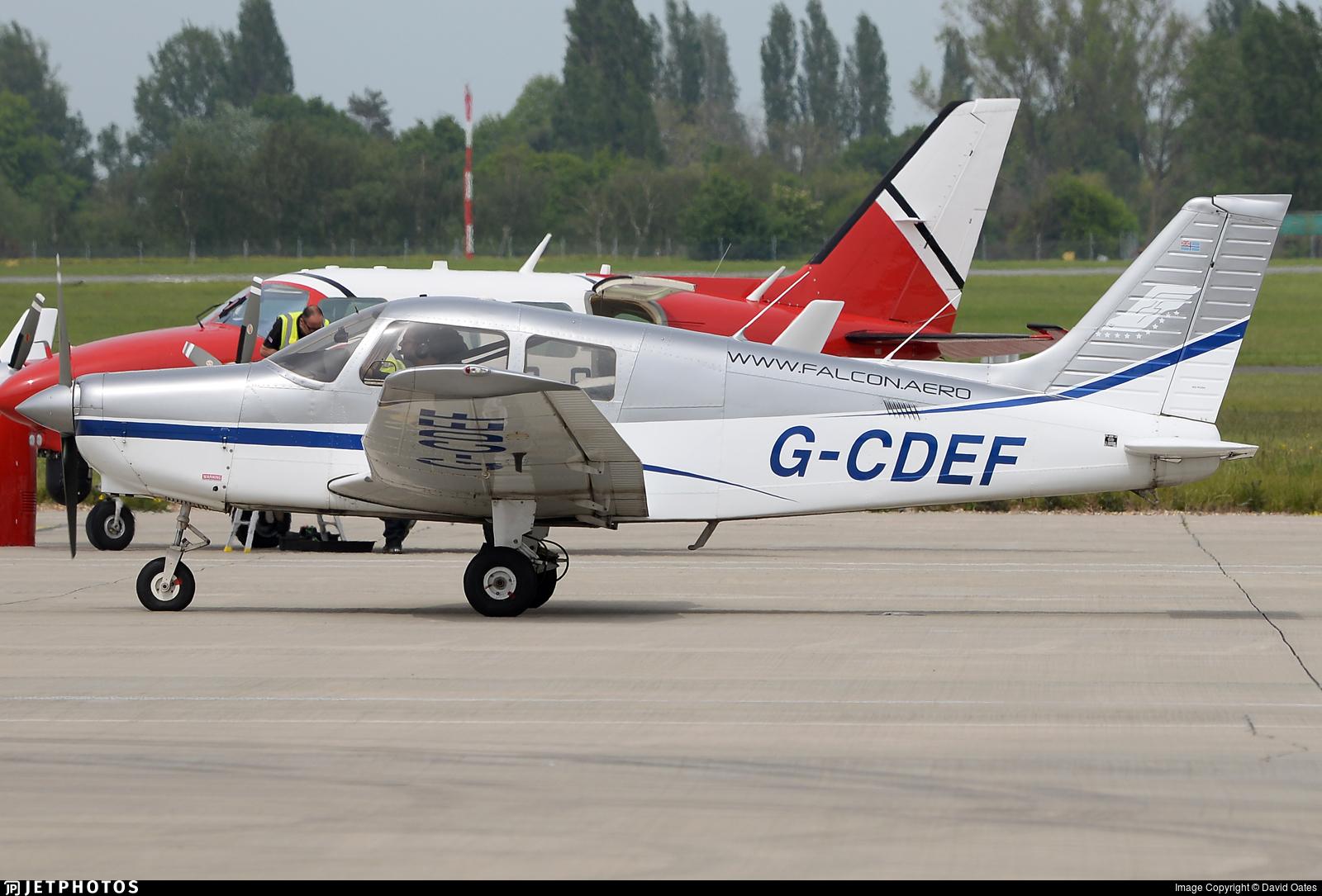 G-CDEF - Piper PA-28-161 Cadet - Private