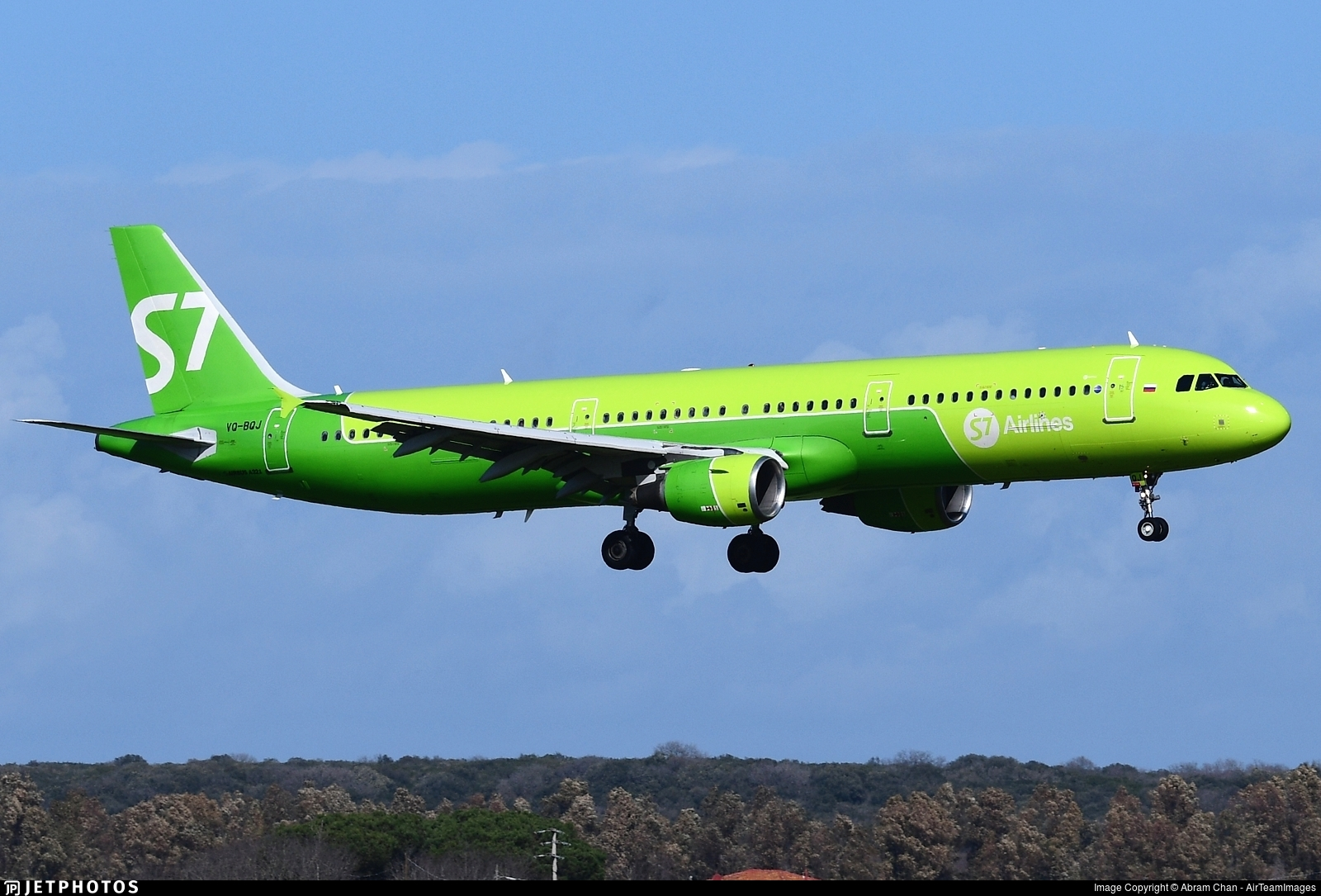 VQ-BQJ - Airbus A321-211 - S7 Airlines