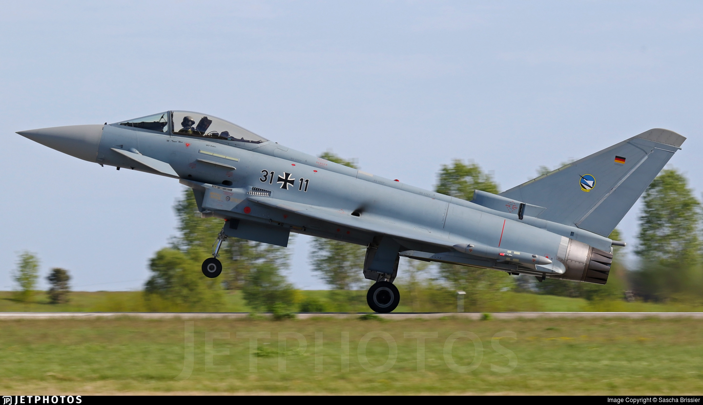 31-11 - Eurofighter Typhoon EF2000 - Germany - Air Force