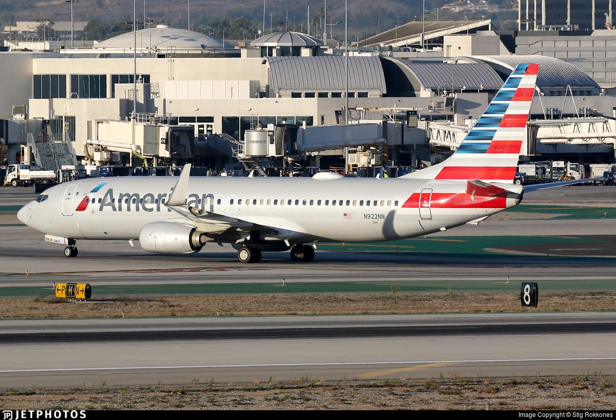 N922NN - Boeing 737-823 - American Airlines