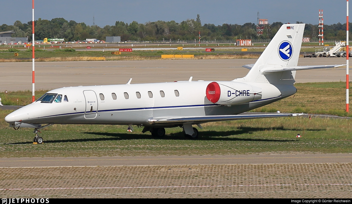 D-CHRE - Cessna 680 Citation Sovereign - Hahn Air