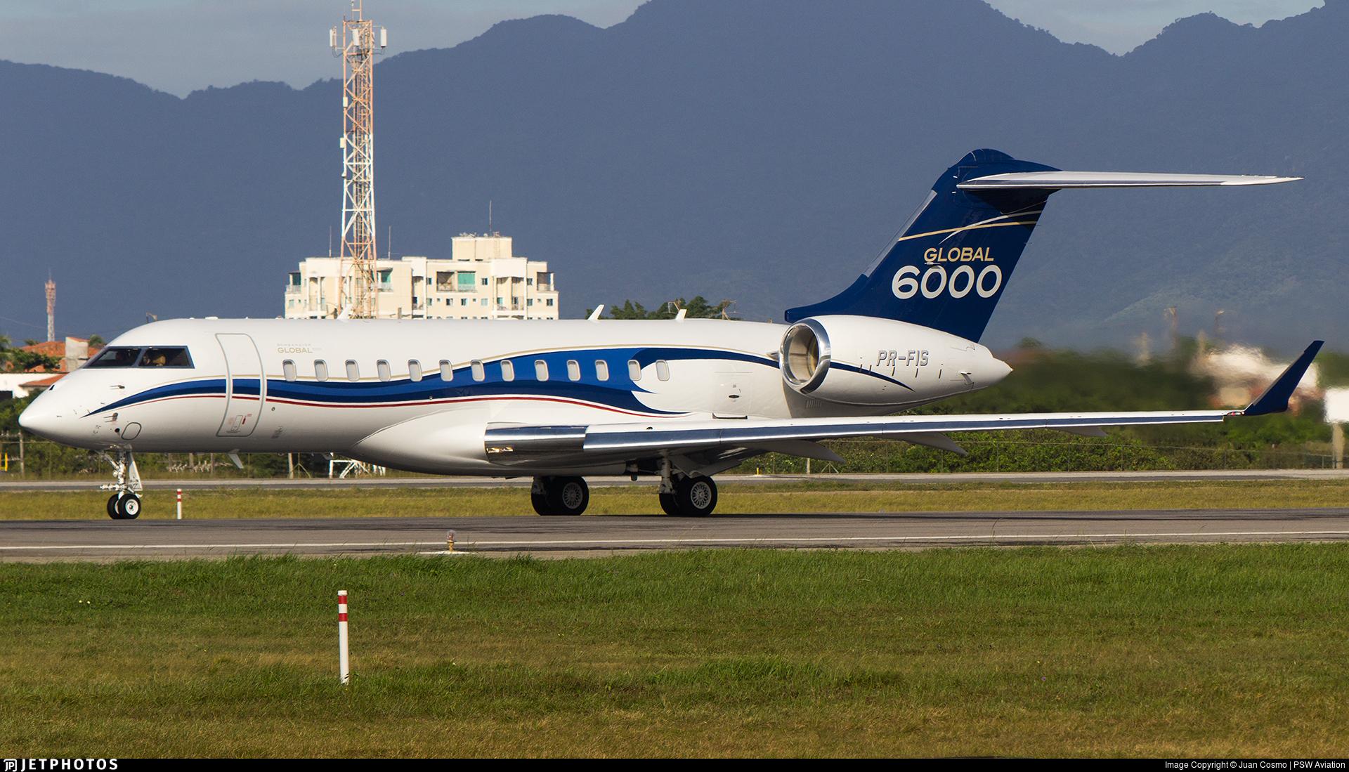 PR-FIS - Bombardier BD-700-1A10 Global 6000 - Private