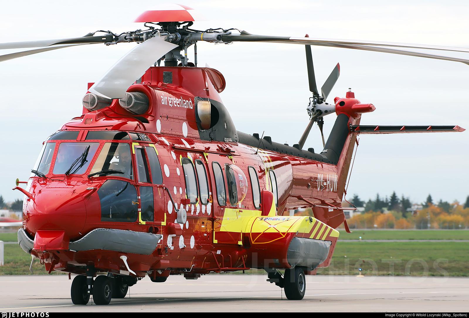 OY-HUW - Eurocopter EC 225LP Super Puma II+ - Air Greenland