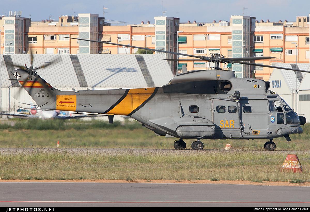 HD.19-3 - Aérospatiale AS 332B Super Puma - Spain - Air Force
