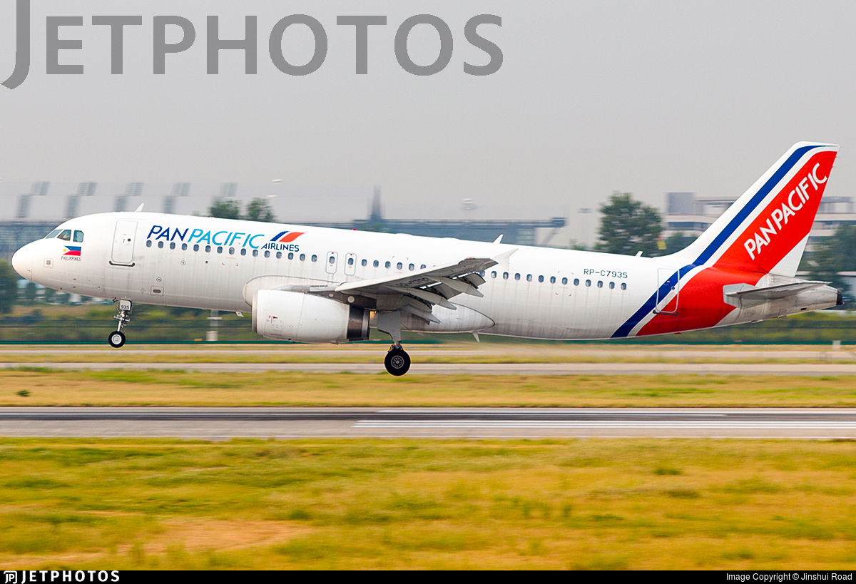 RP-C7935 - Airbus A320-232 - Pan Pacific Airlines