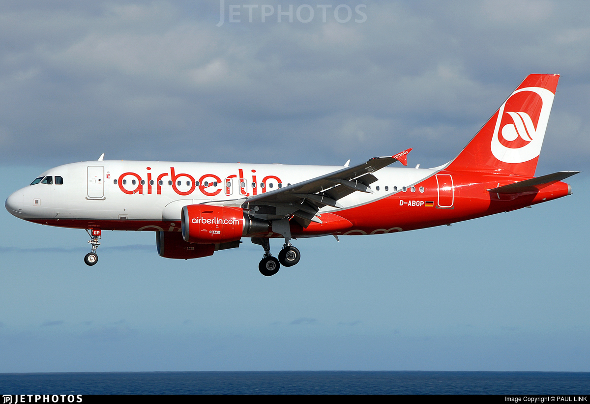 D-ABGP - Airbus A319-112 - Air Berlin
