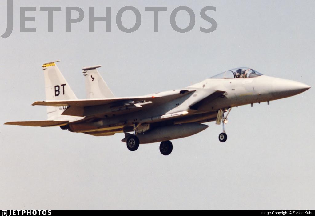 84-0026 - McDonnell Douglas F-15C Eagle - United States - US Air Force (USAF)