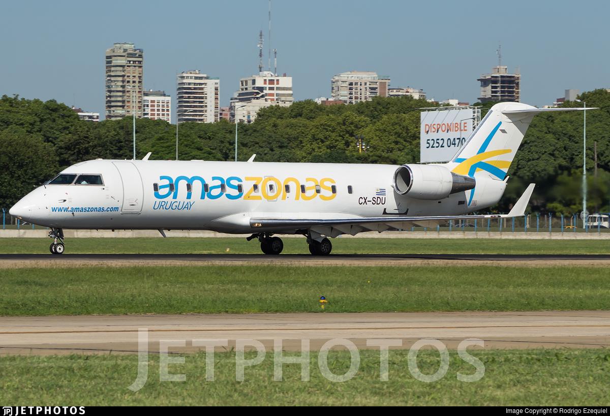 CX-SDU - Bombardier CRJ-200LR - Linea Areas Amazsonas
