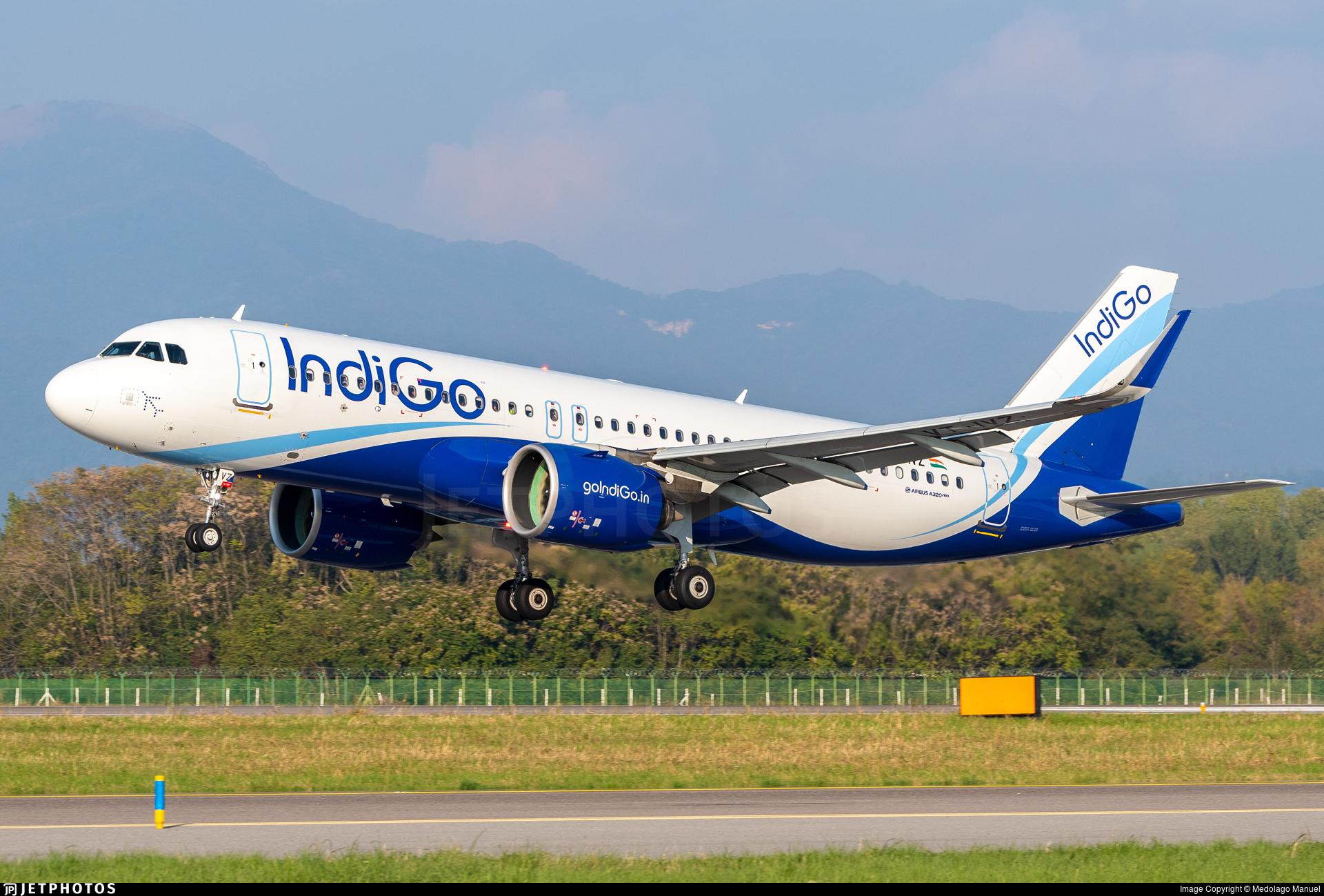 VT-IVZ - Airbus A320-271N - IndiGo Airlines
