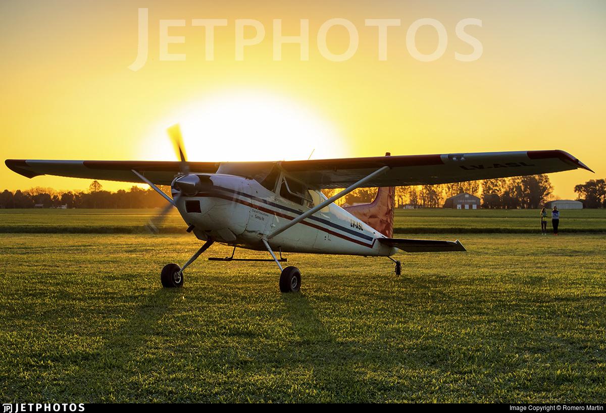 LV-ASL - Cessna 185D Skywagon - Private