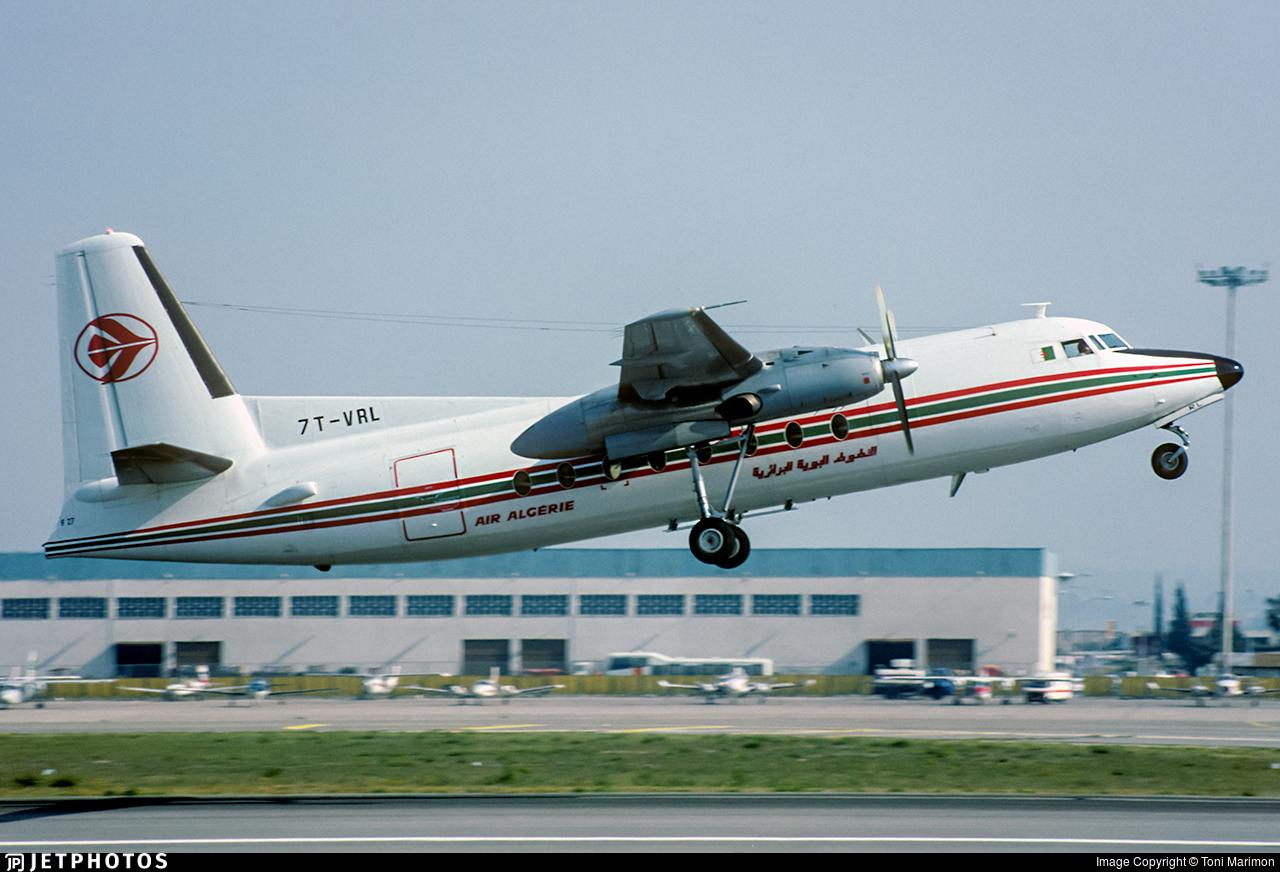 7T-VRL - Fokker F27-400M Troopship - Air Algérie