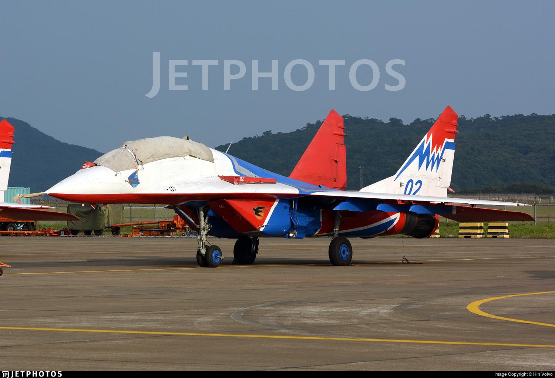 02 - Mikoyan-Gurevich MiG-29UB Fulcrum - Russia - Air Force