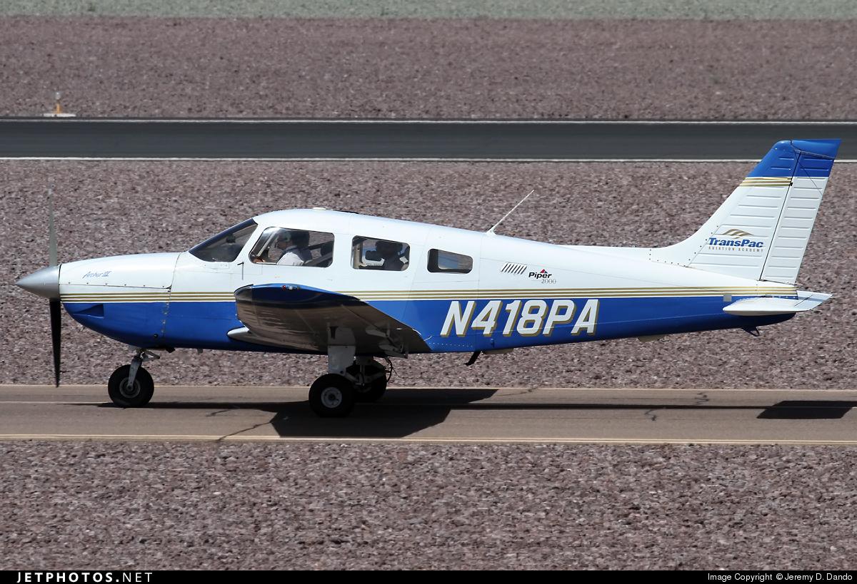 N418PA - Piper PA-28-181 Archer III - Private
