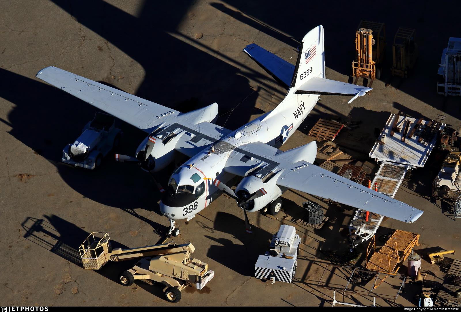 N8110X - Grumman S-2F-1 Tracker - Private