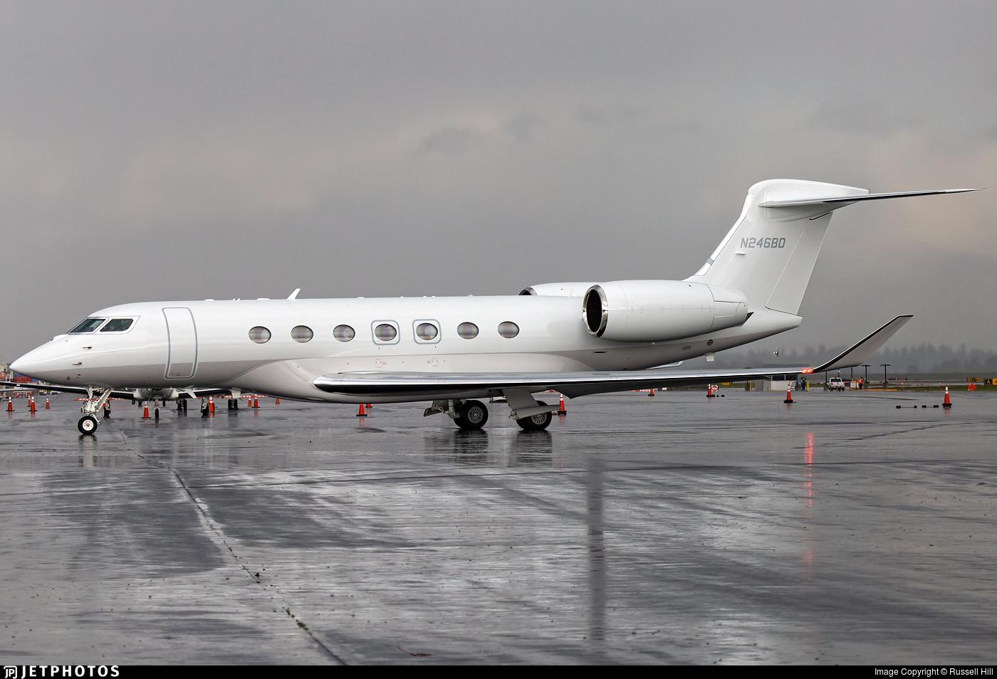 N246BD - Gulfstream G600 - Private