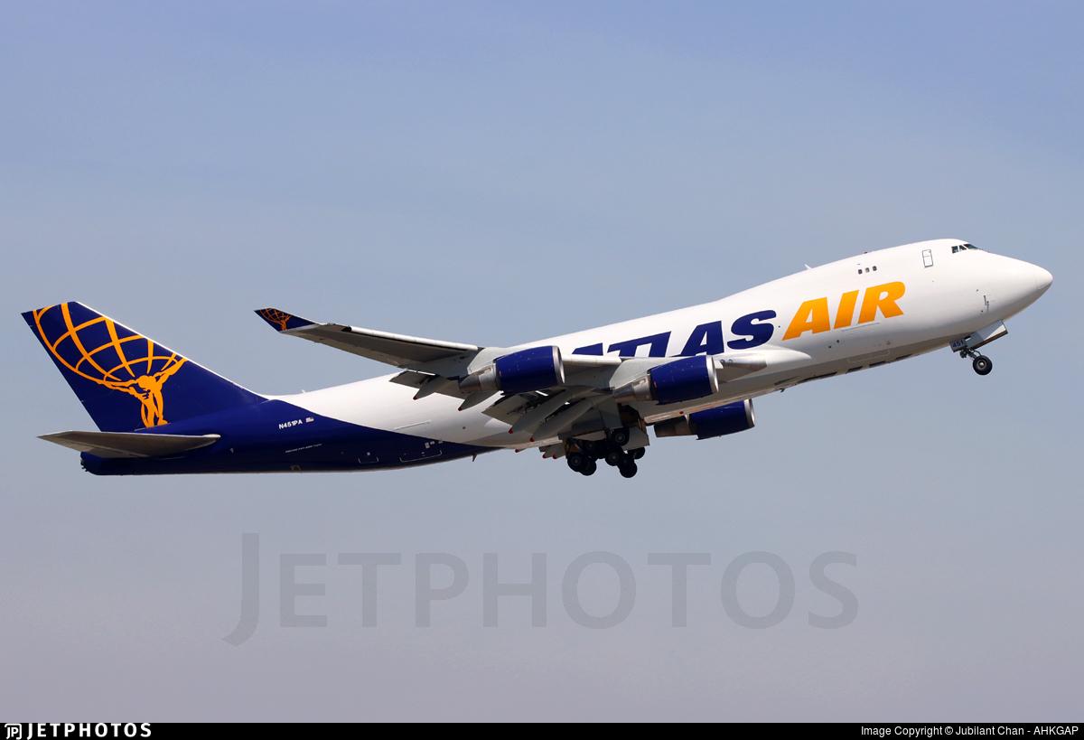 N451PA - Boeing 747-46NF(SCD) - Atlas Air