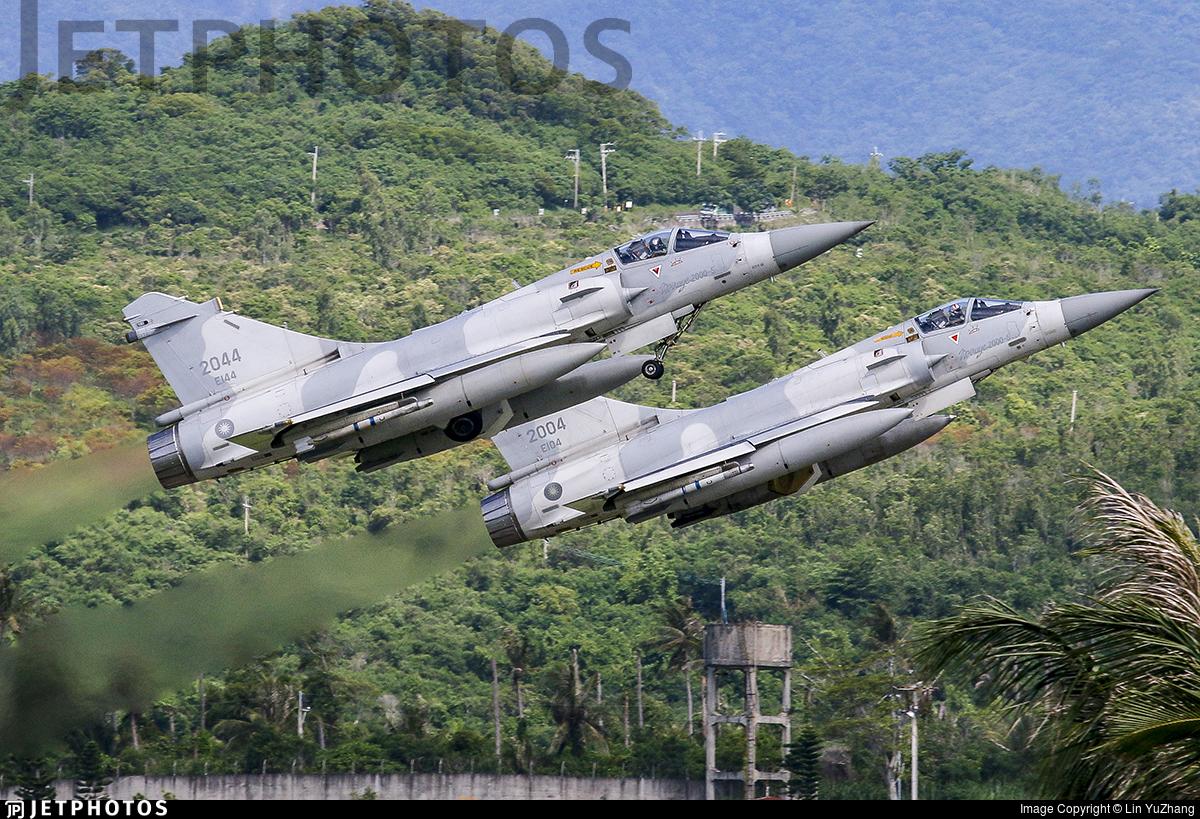 2044 - Dassault Mirage 2000-5 - Taiwan - Air Force