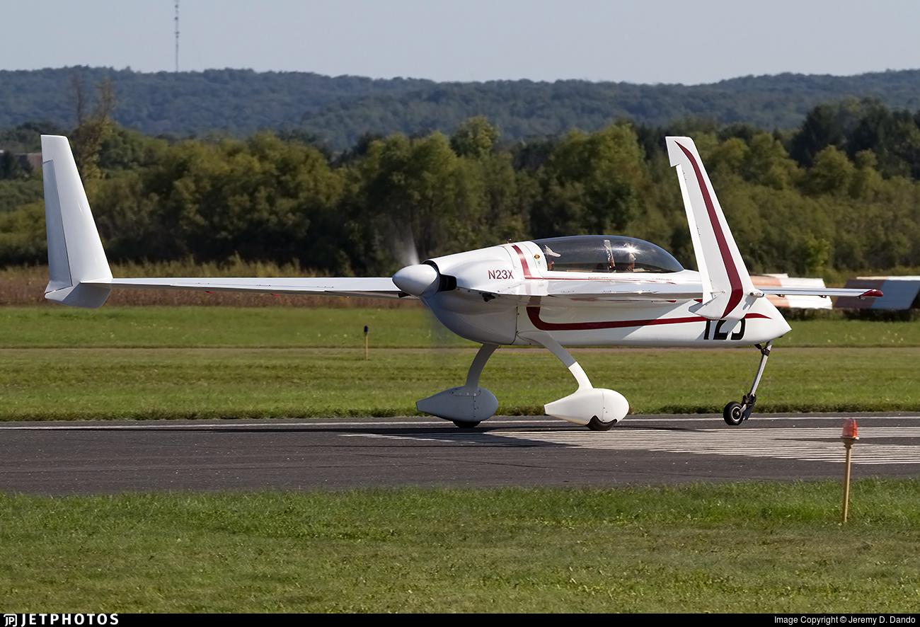 N23X - Rutan LongEZ - Private