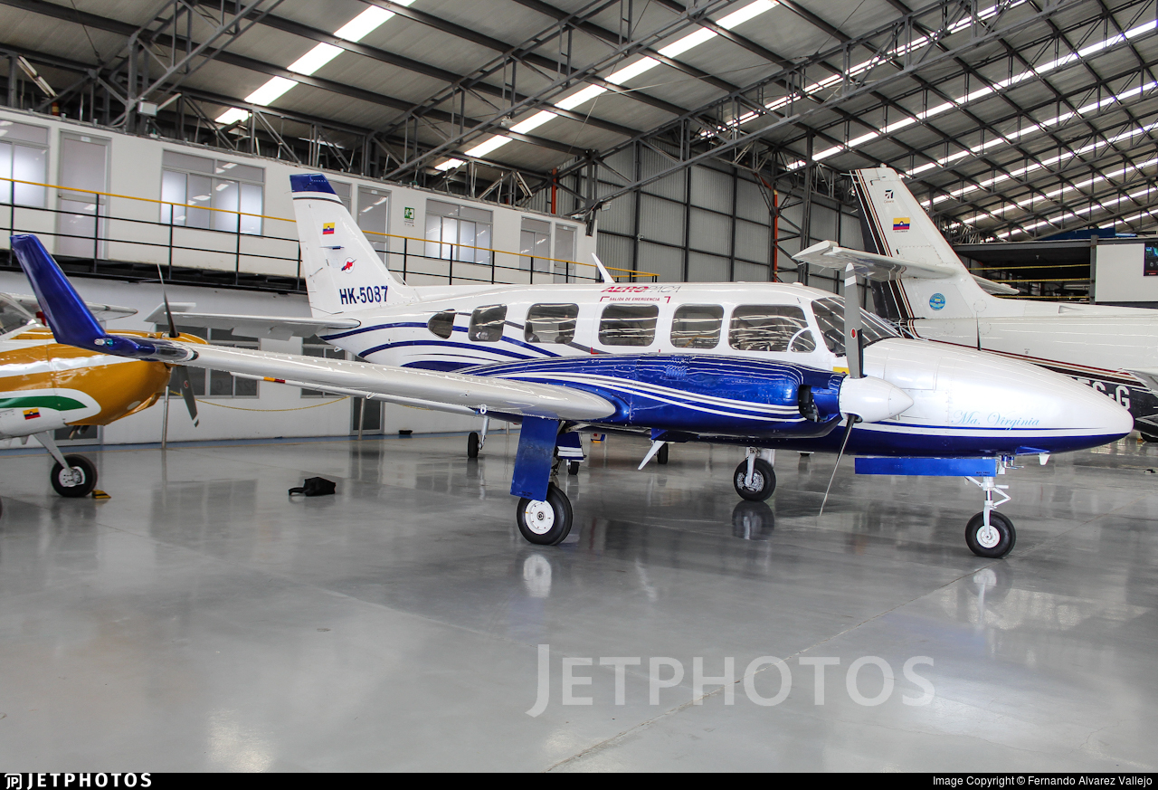 HK-5087 - Piper PA-31-350 Chieftain - AeroPaca
