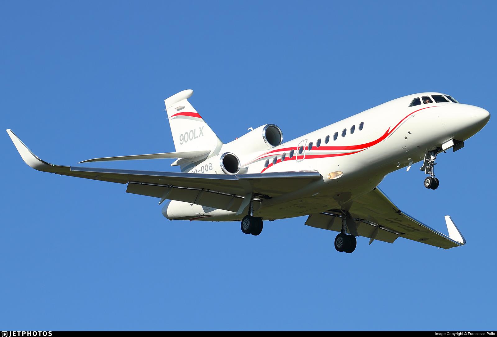 OO-DOB - Dassault Falcon 900LX - Flying Group