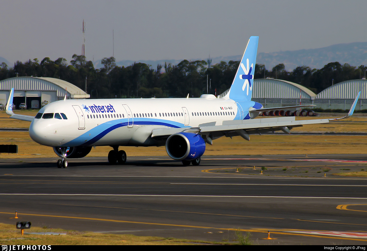 XA-MAP - Airbus A321-251N - Interjet