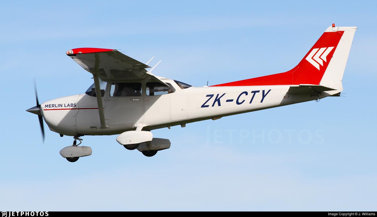 ZK-CTY - Cessna 172S Skyhawk SP - Merlin Labs