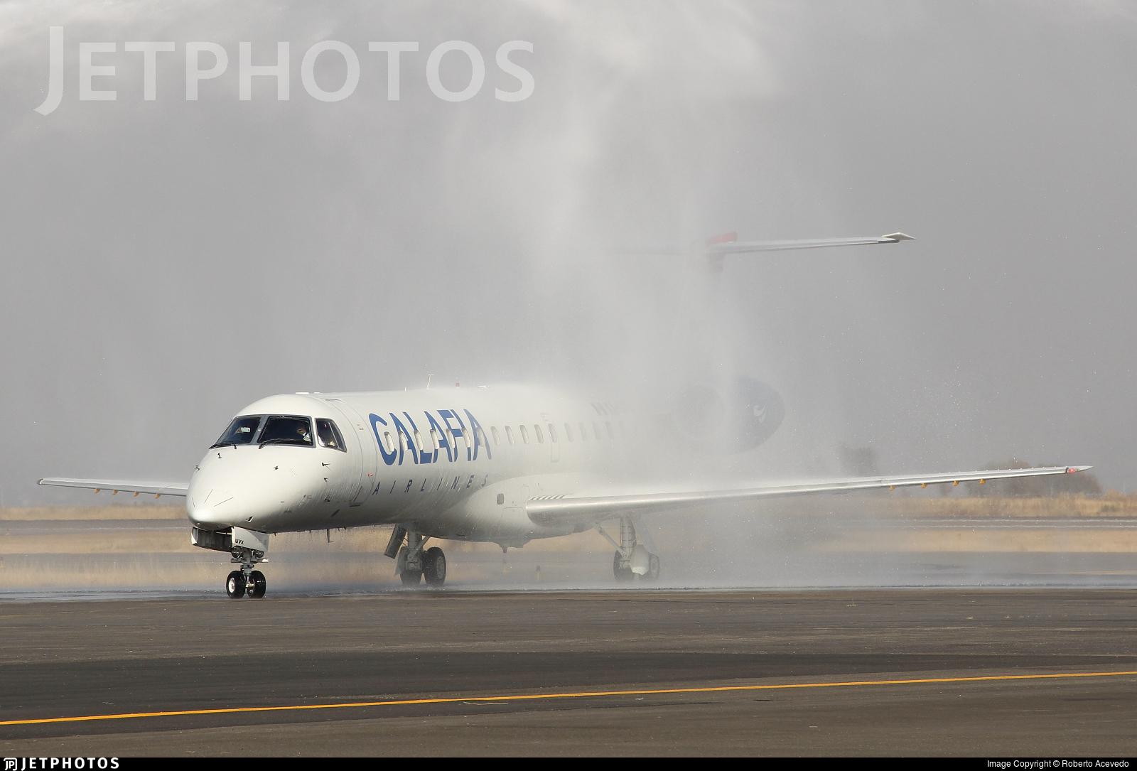 XA-UVX - Embraer ERJ-145EP - Calafia Airlines