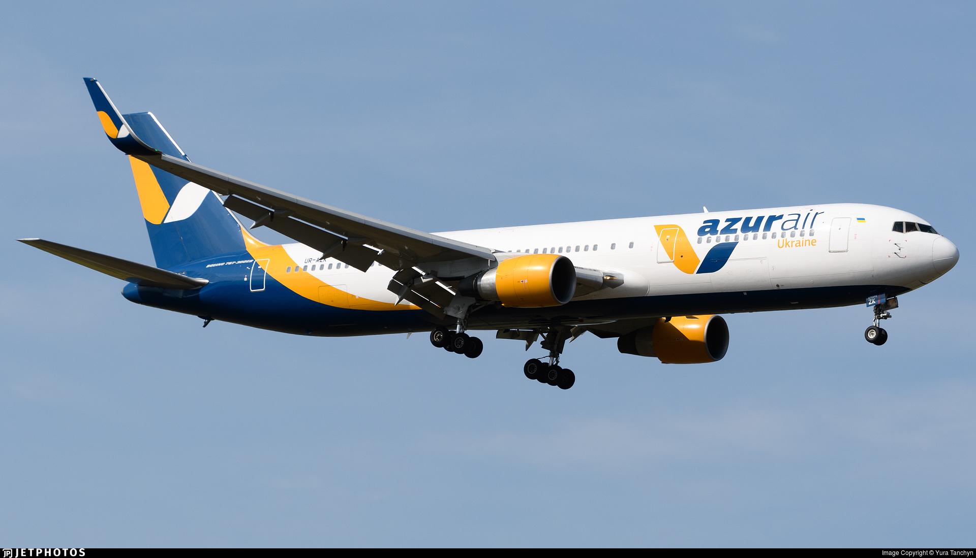 UR-AZK - Boeing 767-33A(ER) - Azur Air Ukraine