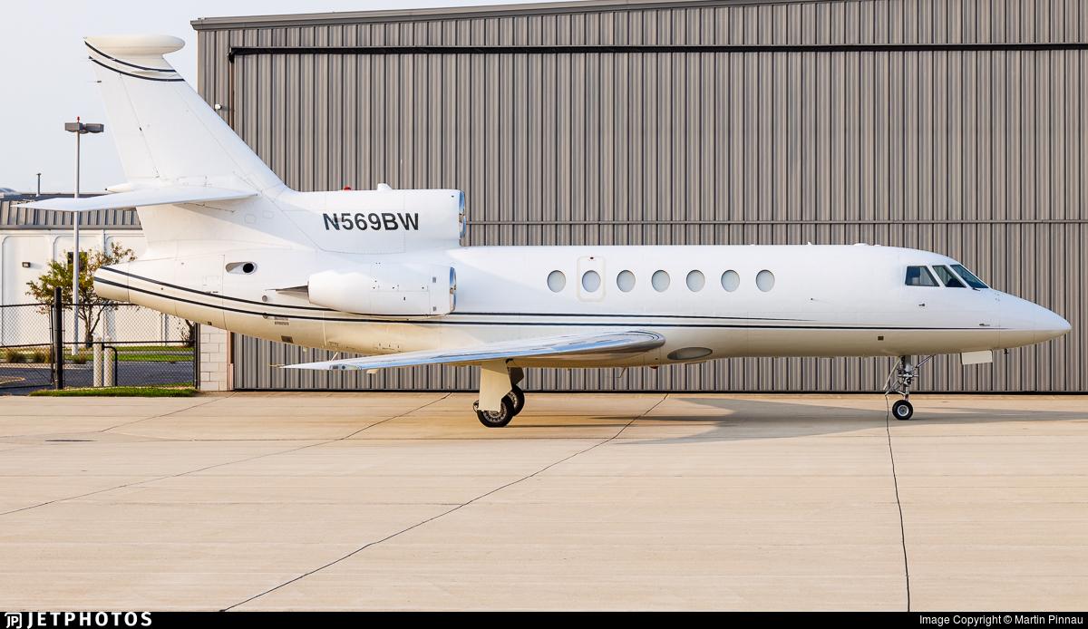 N569BW - Dassault Falcon 50 - Private