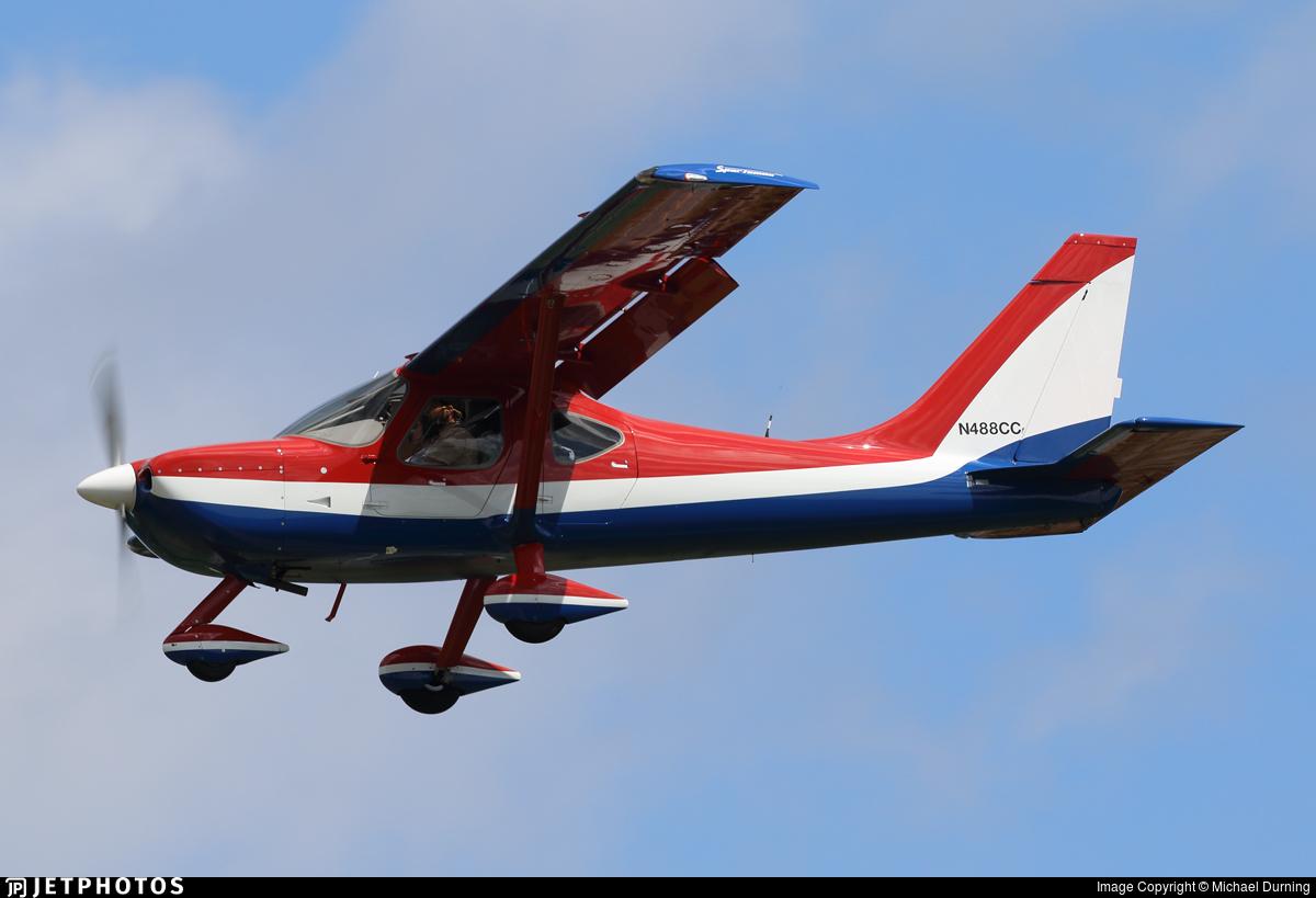 N488CC | Glasair Aviation GS-2 Sportsman 2+2 | Private