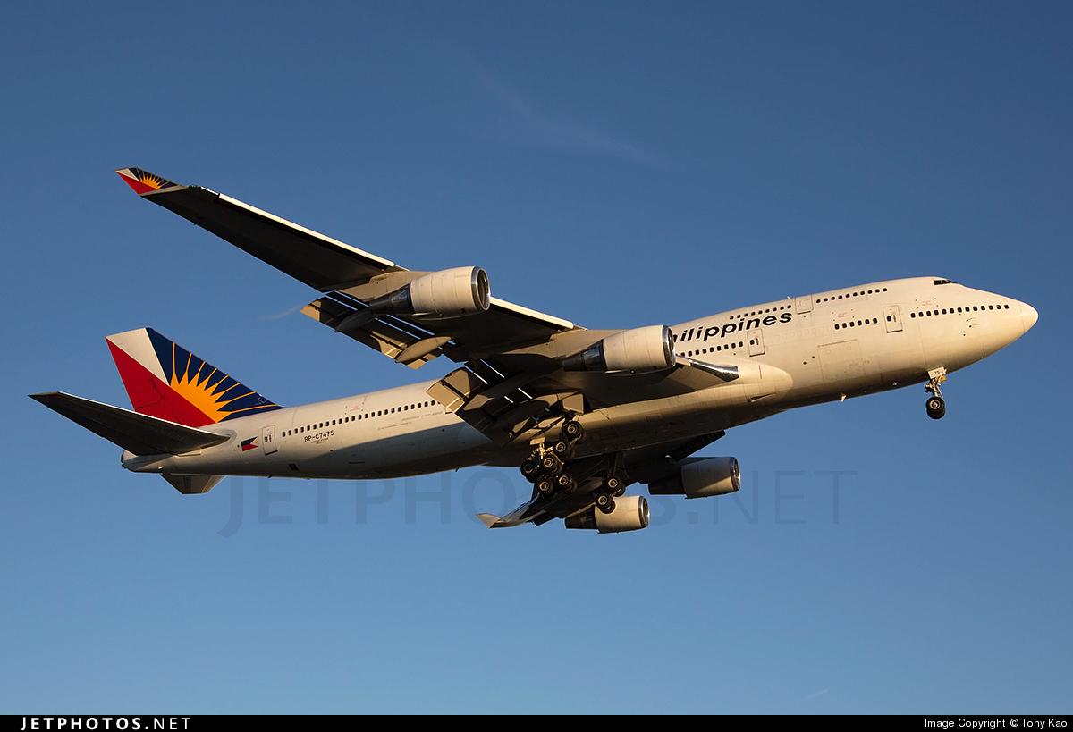 RP-C7475 - Boeing 747-469(M) - Philippine Airlines