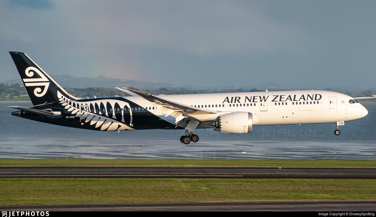 ZK-NZR - Boeing 787-9 Dreamliner - Air New Zealand