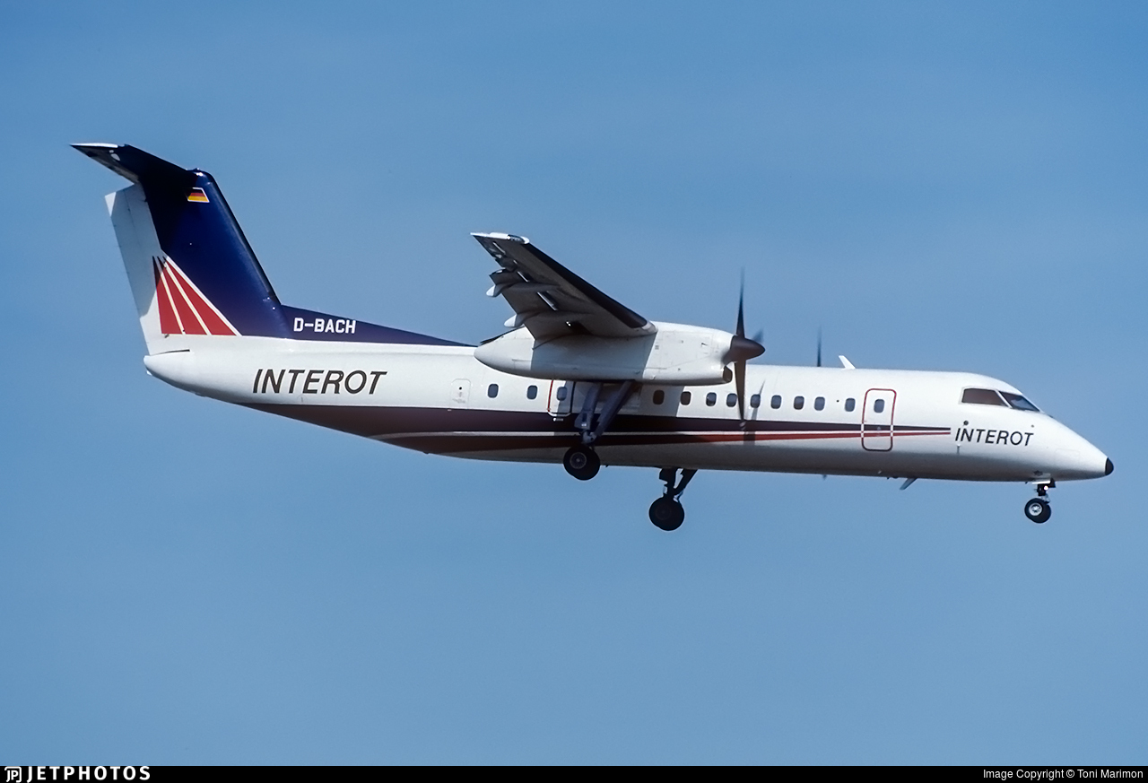 D-BACH - Bombardier Dash 8-Q314 - Interot Airways