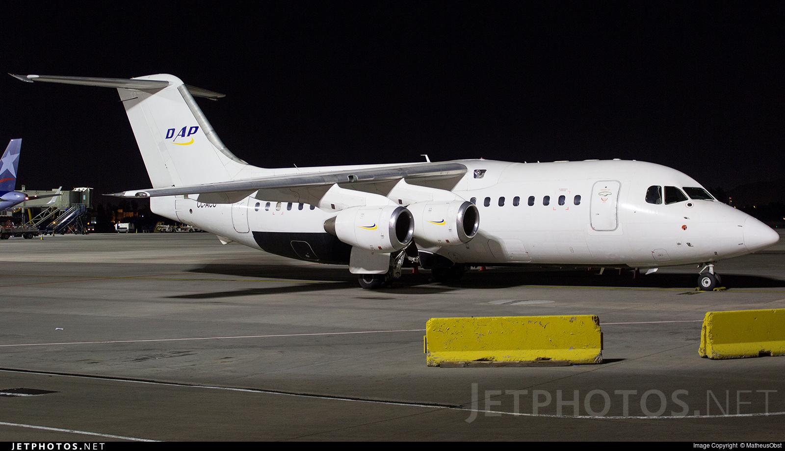 CC-ACO - British Aerospace BAe 146-200 - Aerovías DAP