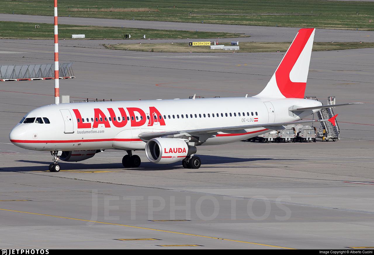 OE-LOU - Airbus A320-214 - LaudaMotion