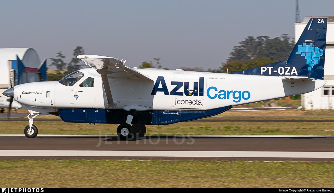 PT-OZA - Cessna 208B Super Cargomaster - Azul Conecta