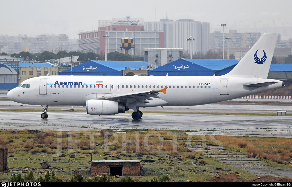 EP-ZAZ - Airbus A320-231 - Iran Aseman Airlines