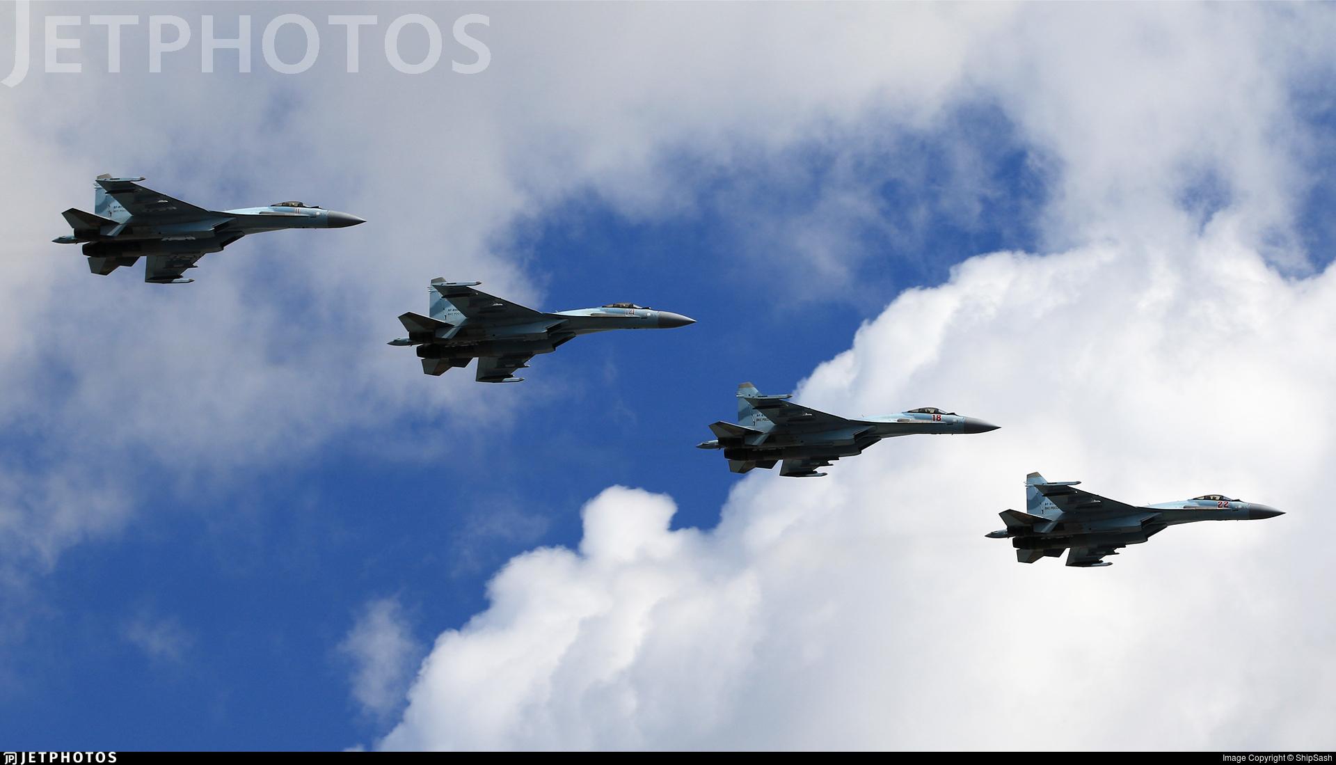 RF-95868 - Sukhoi Su-35S - Russia - Air Force