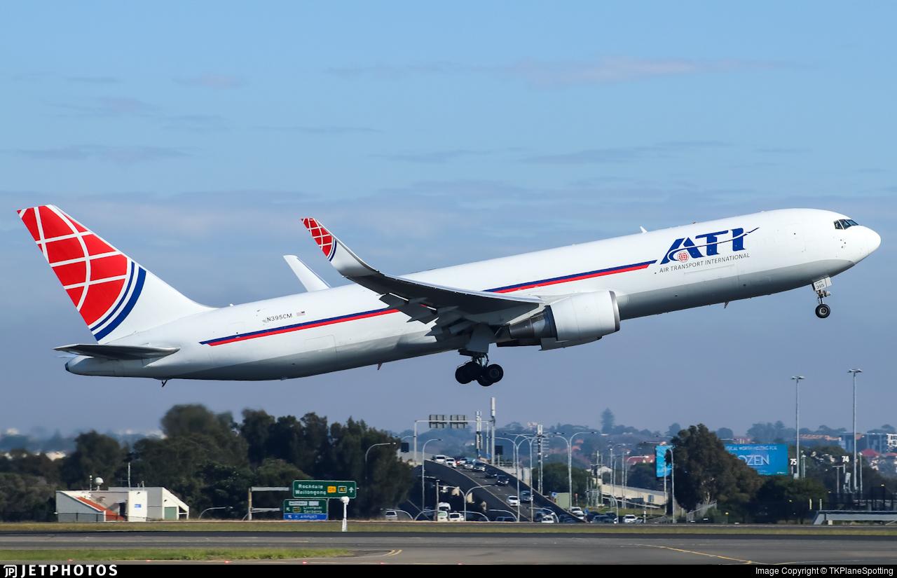 N395CM - Boeing 767-323(ER)(BDSF) - Air Transport International (ATI)