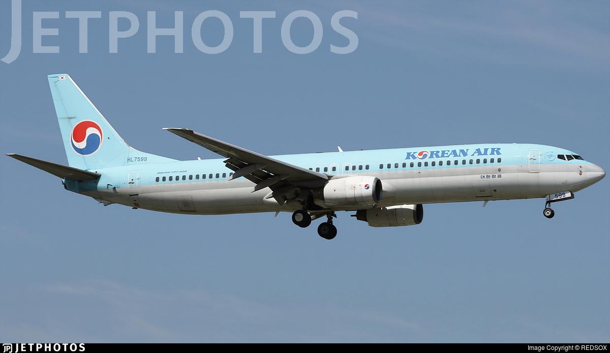 HL7599 - Boeing 737-9B5 - Korean Air