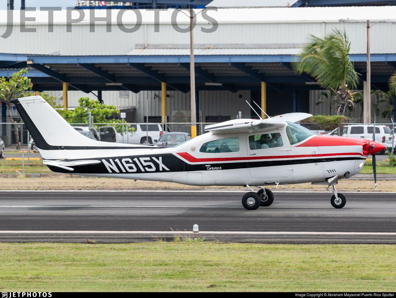 N1615X - Cessna T210L Turbo Centurion  - Private