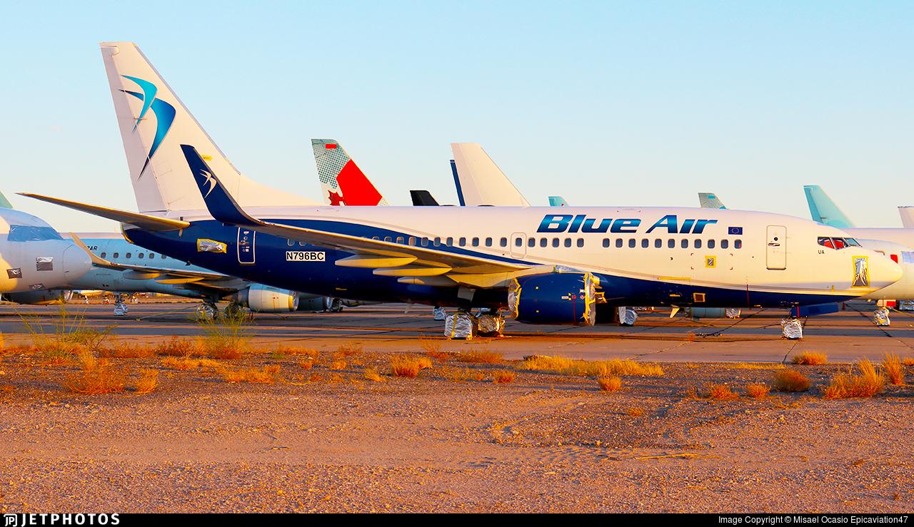 N796BC - Boeing 737-79P - Blue Air