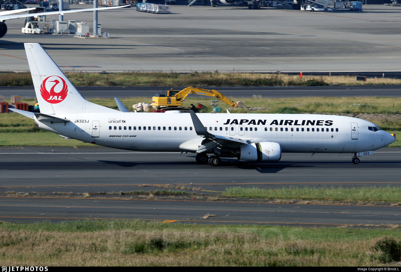JA323J - Boeing 737-846 - Japan Airlines (JAL)