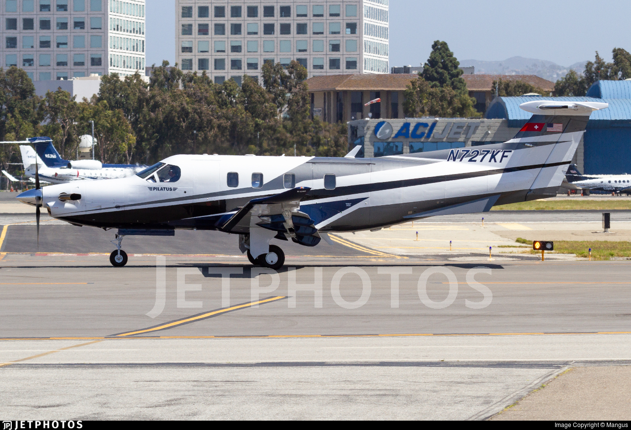 N727KF - Pilatus PC-12 NGX - Private