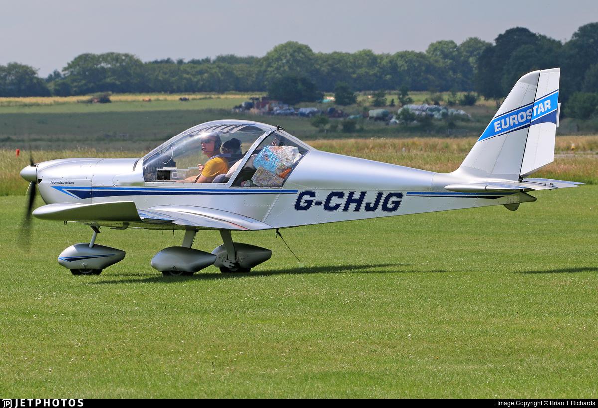 G-CHJG - Evektor EV-97 Eurostar - Private