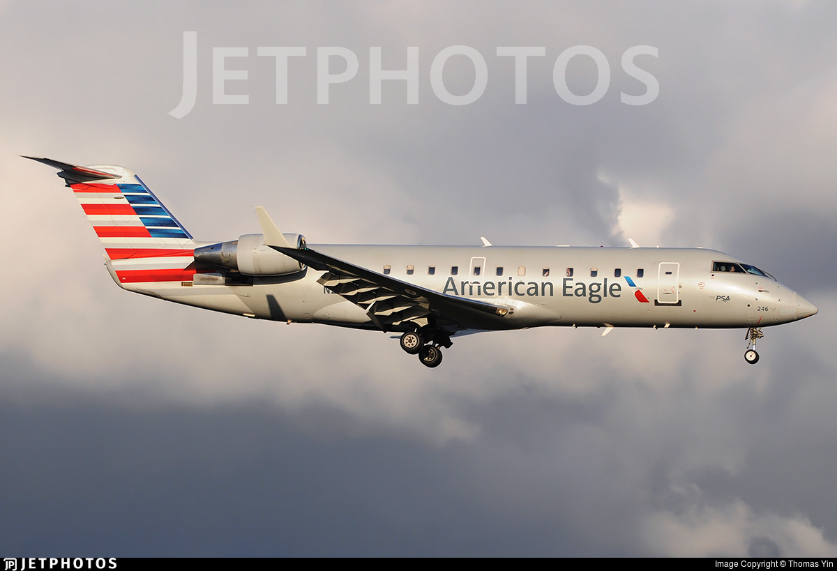 N246PS - Bombardier CRJ-200LR - American Eagle (PSA Airlines)